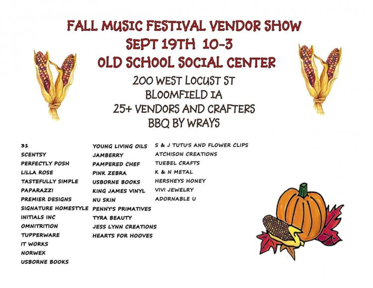 Fall Music Festival Vendor Fair 2015