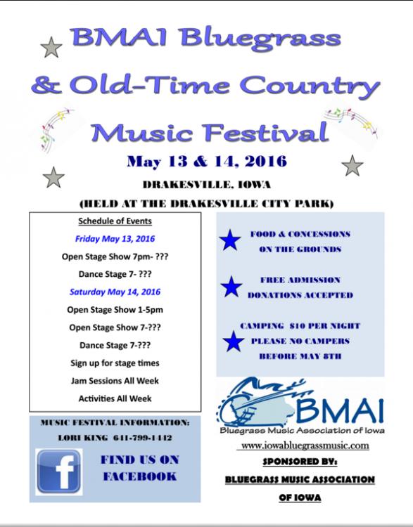 BMAI music fest flyer 2016